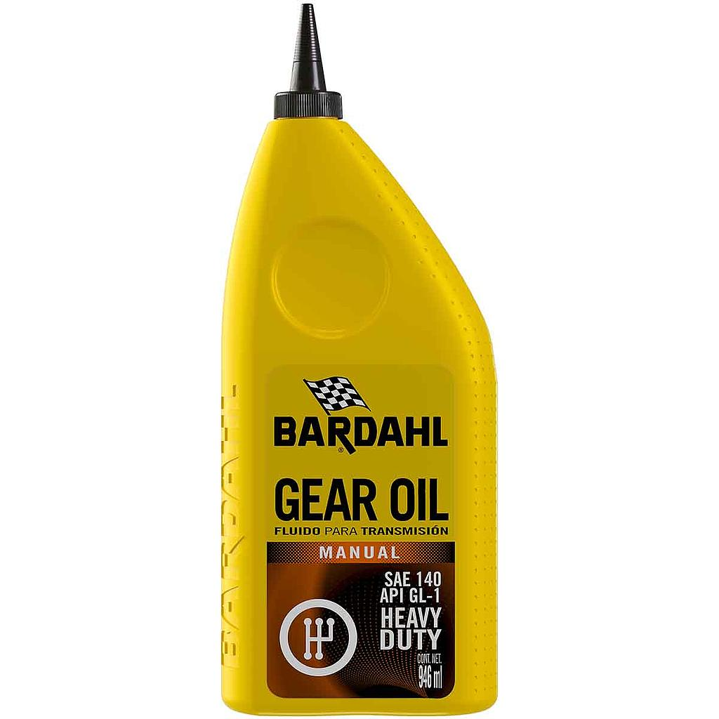 Bardahl Gear Oil Sae 140 Api Gl-1 946 ml 17412